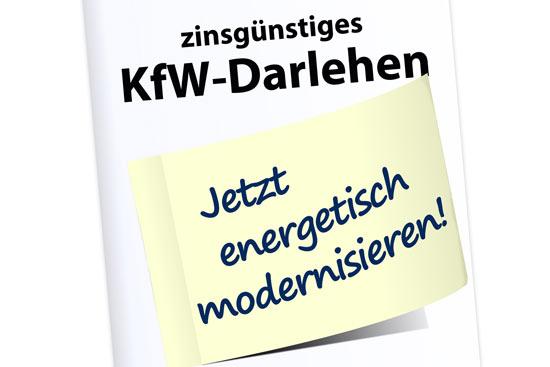 KFW Kredite für die Sanierung nutzen